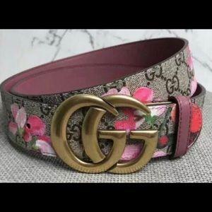 GG Floral Belt 90 cm